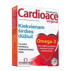 """Cardioace""  kaps., (30 kapsulių) (Vitabiotics Ltd, Jungtinė Karalystė)"