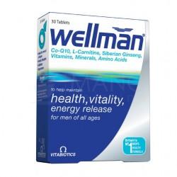 """Wellman"" tab., (30 tablečių) (Vitabiotics Ltd, Jungtinė Karalystė)"