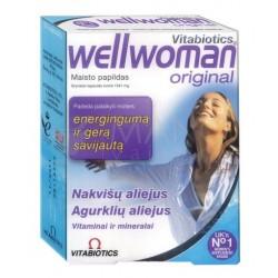 """""""Wellwoman"""" kaps., (30 kapsulių) (Vitabiotics Ltd, Jungtinė Karalystė)"""