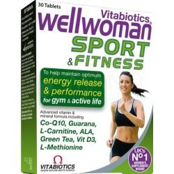 """Wellwoman Sport"" tab., (30 tablečių) (Vitabiotics Ltd, Jungtinė Karalystė)"