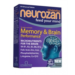 """Neurozan"" tab., (30 tablečių) (Vitabiotics Ltd, Jungtinė Karalystė)"