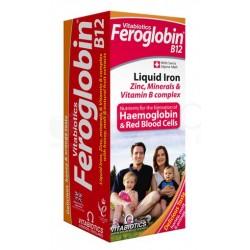 """""""Feroglobin B12"""" sol. 200 ml (Vitabiotics Ltd, Jungtinė Karalystė)"""