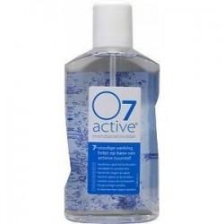 """Dantų skalavimo skystis """"O7 Active"""", su aktyviu deguonimi ir fluoru (500 ml) (Oral Company International B.V., Olandija)"""