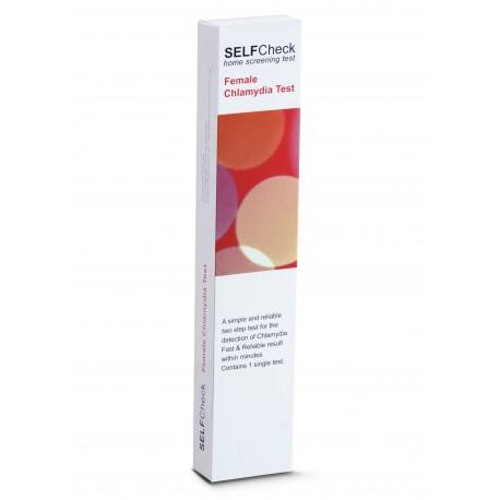 """SELFCheck  Chlamydia"" testas moterims, chlamidiozės diagnostikai, (1 testas) (First Health Ltd., Anglija)"
