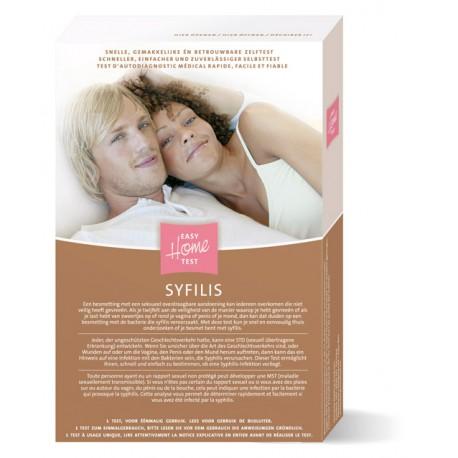 """""""Easy Home SYFILIS"""" testas sifilio diagnostikai,  (1 testas) (Imhotep Medical, Olandija)"""
