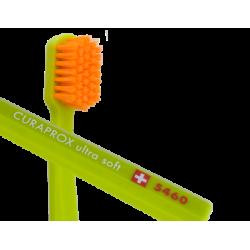 """Dantų šepetėlis """"CURAPROX CS5460  Ultra Soft"""", labai minkštas, šviesių spalvų, (1vnt.) (Curaden, Šveicarija)"""