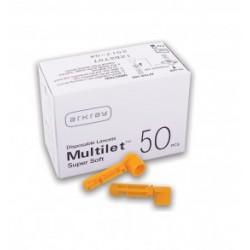 Adatėlės Multilet Super Soft  (50 adatėlių) N50