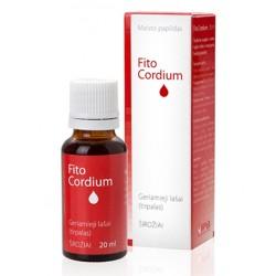 """""""FitoCordium"""" geriamieji lašai (tirpalas) širdžiai ir kraujagyslėms 20 ml  (Innovative Pharma Baltics)"""