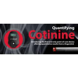 """Kotinino (COT) kraujyje matuoklis """"pts detect Cotinine"""""""