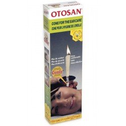 Otosan ear Cones, 4 vnt. (ekologiški, augaliniai), (Otosan, Italija)