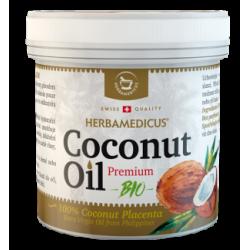 Herbamedicus Coconut Oil Premium Bio ekologiškas kokosų aliejus, 250ml (Herbamedicus, Šveicarija)