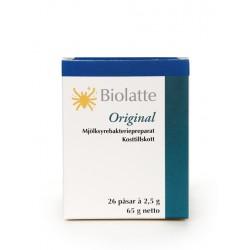 BIOLATTE Original paketėliai, (26 paketėliai) (Biolatte Oy, Suomija)