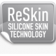"Silikoninis pleistras randams (4x15 cm) ""ReSkin SCAR Silicon Patch"", 2 vnt. (Reskin Medical NV, Belgija)"